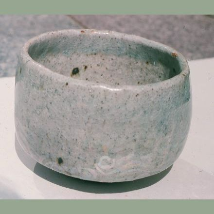 """Celadon Tea Bowl with Lustre over Glaze""- 1976"