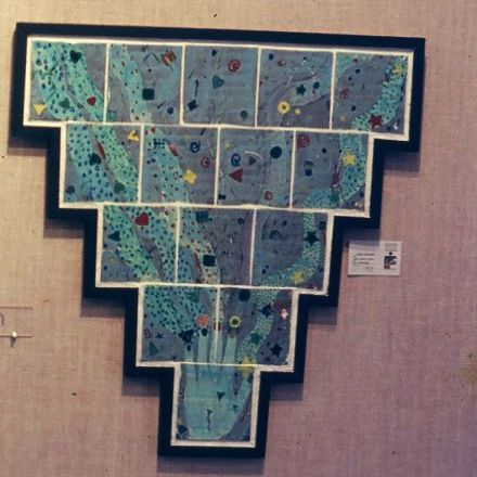 """Handmade"" - tile composition, in the collection of Steven Denure Filmmaker"